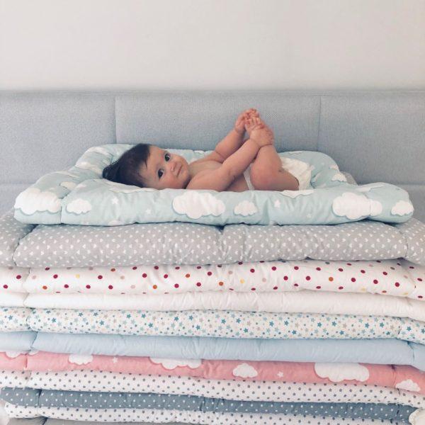 jastuk i poplun za kinderbet krevetić