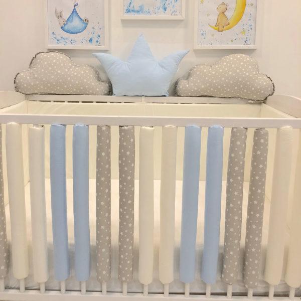 zaštitne navlake za rešetke krevetića za bebe