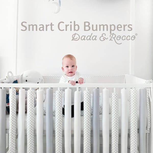 Smart crib bumpers