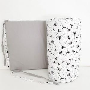 dada&rocco crib bumper