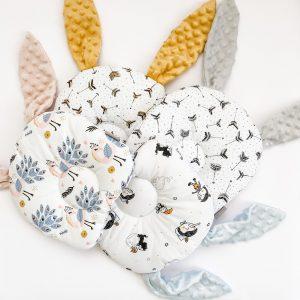 dada&rocco bunny pillow