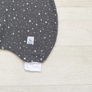 Dada&Rocco Sleeping bag - Stars & Grey