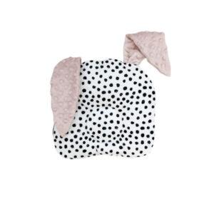 D&R Bunny Pillow Dots & Pink 2