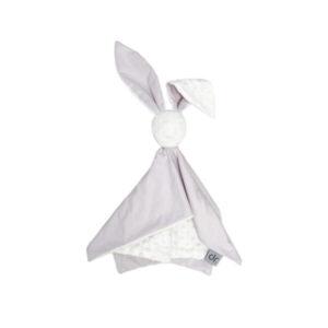 D&R Cuddle toy Bunny - Lavander & Cream