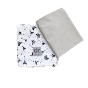 Dada&Rocco Bedding Set - Arrows & Grey
