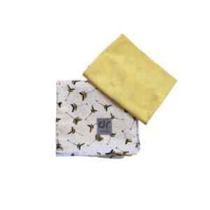Dada&Rocco Bedding Set - Arrows & Yellow