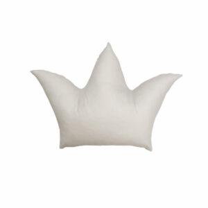 Dada&Rocco - Decorative pillow - Beige Crown