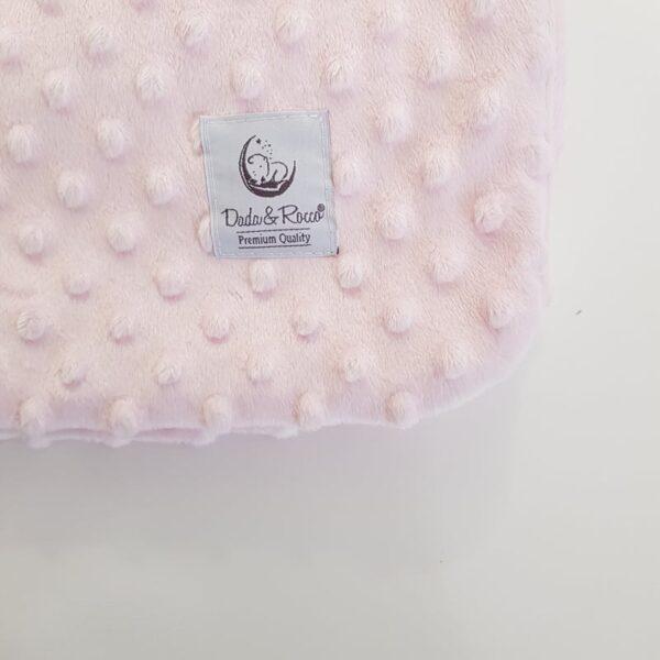 minky dekica roza za bebe